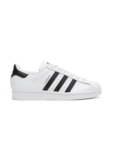 adidas Kadın Superstar Sneakers FU7712.Beyaz Beyaz